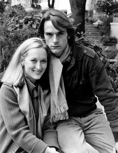 """Meryl Streep & Jeremy Irons: Co-stars in """"The French Lieutenant's Woman"""" & """"The House of the Spirits"""""""