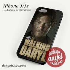 The walking daryl Phone case for iPhone 4/4s/5/5c/5s/6/6 plus