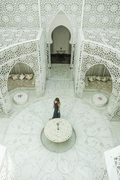 most beautiful spa in the world royal mansour