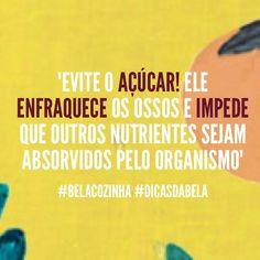 """""""Todos os nutricionistas, nos dias de hoje, concordam que o açúcar (sacarose) é uma caloria """"vazia"""" por não conter nenhum outro nutriente além do carboidrato, o que o faz um dos responsáveis pela epidemia de obesidade no ocidente. Porém, os malefícios do açúcar não param por aí."""" - Texto completo em http://www.bela-gil.squarespace.com/blog/2013/11/19/ser-que-o-acar-o-combustvel-das-clulas-cancerosas"""