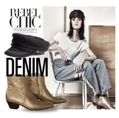 """""""Rebel Chic"""" by queenofsienna ❤ liked on Polyvore"""
