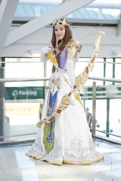 Cosplay: Zelda costume (from Super Smash Bros Brawl)
