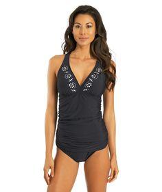 63e29c16f0 Cutting Edge Halter  Tankini Top Swimwear 2014