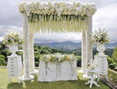#destinationweddings in Bandung, Indonesia at Burgundy Address: jl. Raya Maribiaya No. 163 Lembang, Bandung 40391 #weddinginasia #weddings #asia #destinationweddings