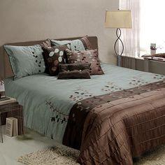 Jenny George Designs Linea 7-pc Comforter Set