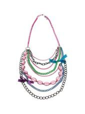 Colorful Chain Necklace-Party City