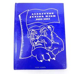 ALBRITTON JUNIOR HIGH 2000 - 2001 Fort Bragg NC North Carolina School YEARBOOK