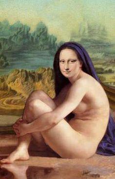 Mona Lisa with Headscarf  by Patrizia (Germany)