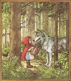 meeting the wolf