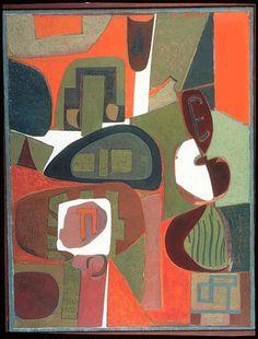 Will Barnet Landscape 1959-1960