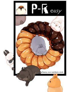donuts Kaninchen 😍