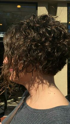 40 most amazing curly short hairstyles for women to try in 2019 29 – JANDAJOSS. Curly Hair Styles, Curly Hair Braids, Curly Hair With Bangs, Curly Hair Cuts, Short Hair Cuts, Bob Haircut Curly, Short Curly Haircuts, Short Permed Hair, Curly Short