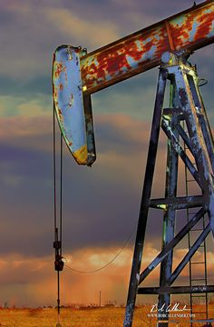 This artwork is created with a museum wrapped canvas Giclée and is produced in a limited edition. Made from an original photograph, captured by Bob Callender. This print is hand signed and numbered Oilfield Trash, Oilfield Wife, Pictures To Paint, Cool Pictures, Beautiful Pictures, Texas Oil Fields, Oil Rig Jobs, Oil Platform, Oil Refinery