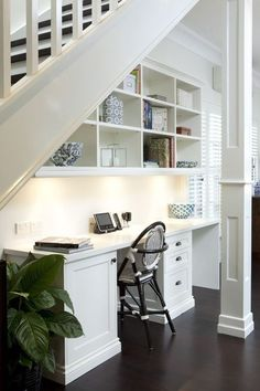 via designed for life, via stadshem. full use of space for home office.
