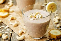 Cashew nut cup superfood smoothie recipe, by my nutrition advisor Breakfast Smoothie Recipes, Easy Smoothie Recipes, Protein Recipes, Lassi Recipes, Milk Recipes, Shakeology Flavors, Banana Berry Smoothie, Superfood Smoothies, Cocoa