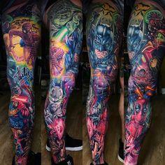 """51 Likes, 1 Comments - Tattoo World Pub (@tattoo_world_pub) on Instagram: """"by @drkturcotte 🇨🇦. #best #tattoo #tattooartist #tattoosupport #tattooworldpub #like4like…"""""""