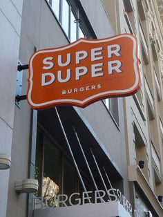 Super Duper Projecting Sign by daemonsquire, via Flickr