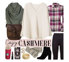 """""""Cozy Cashmere"""" by mandy-ruth ❤ liked on Polyvore featuring adidas, The North Face, White + Warren, DUBARRY, MANGO, Casetify, NARS Cosmetics, Nanette Lepore and The Sak"""