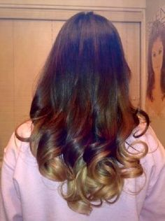 loose curls at the bottom of hair - Google Search