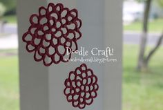 Doodle Craft...: Puff Paint jewelry and window clings!- Think of the holidays you could decorate for!
