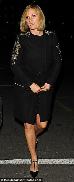7e9ba2995ff Zara Phillips and Mike Tindall dress up for rare night out on the town