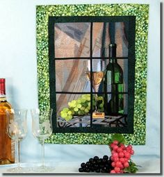 Window - Vintage Wine   by Fred  $30  bfc-creations.com