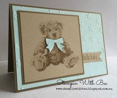 baby bear stampin up - Google Search