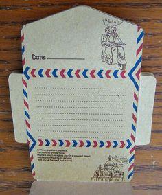 Mailable letter envelope