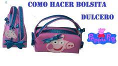 COMO HACER BOLSITA DULCERO PEPPA PIG DE FOAMY