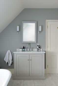 Nice and simple, could use drawers  A beautiful sink cabinet from deVOL's Classic English range