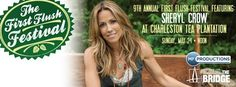 Love Sheryl Crow? Don't forget to buy your tickets to rock out at the 9th Annual First Flush Festival at the Charleston Tea Plantation on Sunday, May 24! #bigelowtea #music #FirstFlush