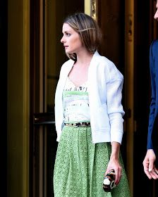 The Olivia Palermo Lookbook : Olivia Palermo at the Yves Saint Laurent premiere in New York City