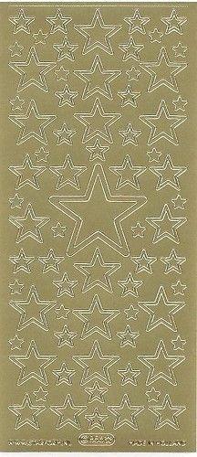 Starform sticker Gold Christmas 856 - Sticker sheets