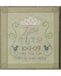 Happily Ever After - this could be really cute for either a girl or a boy if I replaced the crown with something else