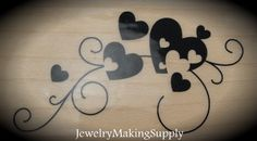 Wood Mounted Rubber Stamp Long Scroll by JewelryMakingSupply, $3.99  timbri soggetti vari