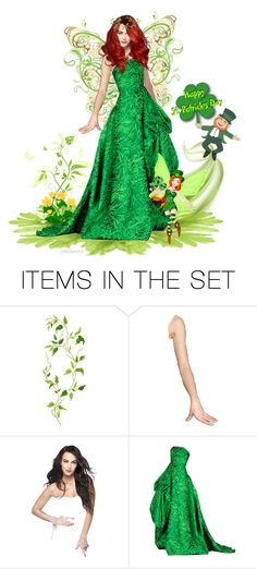 """""""Happy St. Patrick's Day :-)"""" by pwhiteaurora ❤ liked on Polyvore featuring art"""