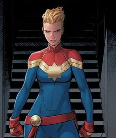Captain Marvel by David Marquez