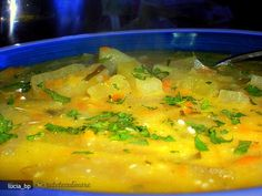 Supa de Gulii Soups, Vegetarian Recipes, Curry, Food And Drink, Ethnic Recipes, Fine Dining, Kitchens, Chef Recipes, Cooking