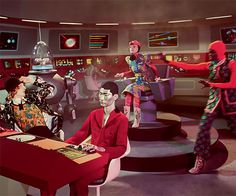 Human Characters Interact With Extra-Terrestrial Creatures And Dinosaurs – New Gucci Campaign Inspired By Vintage Sci-Fi