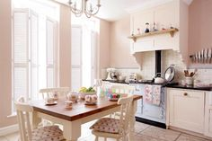 Pretty In Pink Kitchen A Beautiful Townhouse Transformation