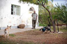 A casa africana de Hylton Nel, que completou 73 anos, é simples, fresca e despretensiosa. Conhecido por seu trabalho em cerâmica, Nel se arrisca em projetos que patinam entre os conceitos lunático, encantador, levemente atordoante, e alegremente v