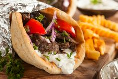 The Gyro, traditionally Greek, is hugely popular in the US. So if you are traveling to Greece, here is where to find what may be the best Gyro in Greece.