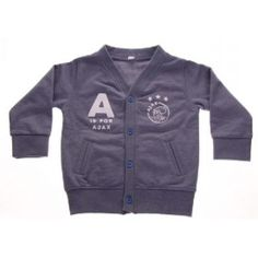 Ajax amsterdam Baby vestje ajax blauw: A is for Ajax maat 62/68
