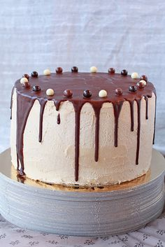 Chocolate Cake with Coffee Buttercream - Fabulous!