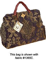 Authentic Carpetbag Reproduction In Period Ropriate Upholstery Fabric Have A True Vintage Without All