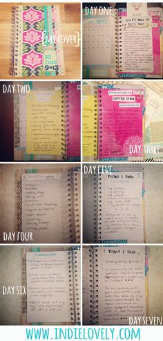 Indie Lovely: My 30 Lists Journal #30lists
