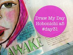 Draw My Day Hobonichi a5 #day31