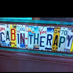License plate idea that u thought was pretty cool!