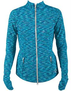 "Even if it""s chilly outside you still want to play your best. For high intensity play in cool weather, the Jofit Space Dye Thumbs Up Jacket is here for all golfers out there! #golf #golfapparel #golfswag #lorisgolfshoppe"