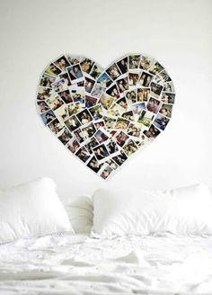 fotos auf Leinwand selber machen fotocollage